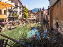 Old Town Of Annecy And Its Canal