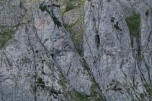 Sheer Rock Face In The Austria...