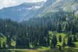Wonderful alpine scenery