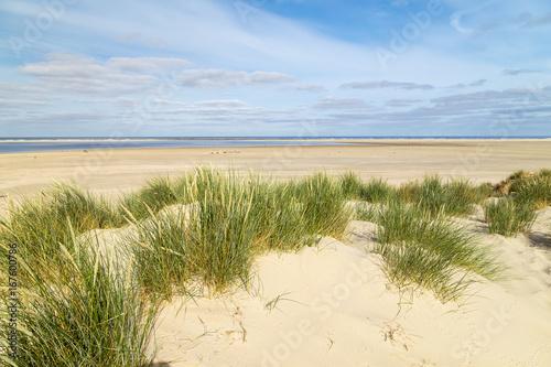 Dünenlandschaft auf Insel Borkum. Nordsee Ostfriesland. © eddi_m