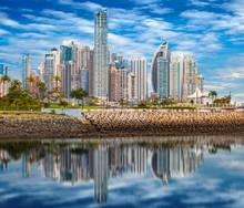 Skyline Of Panama City - Compo...