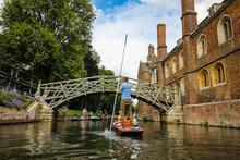 Cambridge River Punting Bridge...