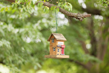 Bird Feeder In The Shape Of A ...