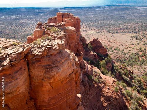 Fotobehang Rood paars Promontory, Sedona, Arizona