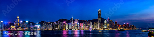 Foto op Aluminium Hong-Kong 香港の夜景・大パノラマ