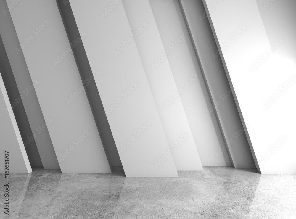 Fototapeta Abstract elegant geometric of blank empty space - obraz na płótnie