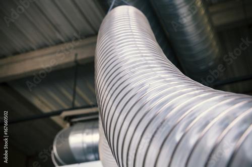 Fotografia corrugated hose for ventilation