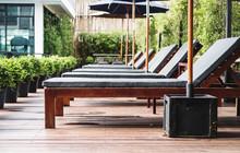 Luxury Outdoor Sunbathing Deck...