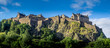 Leinwandbild Motiv Panoramic image of Edinburgh Castle.