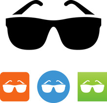 Sunglasses Icon - Illustration
