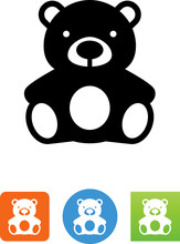 Teddy Bear Icon - Illustration