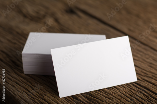 Blank white business card presentation of corporate identity on wood blank white business card presentation of corporate identity on wood background colourmoves