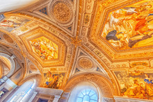 Inside The Vatican Museum, On...
