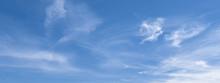 Banner Mit Blauem Himmel Und W...