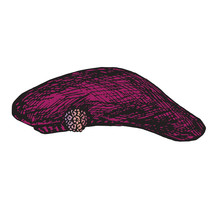 Purple Beret With Pink Jewelry...