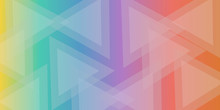 Colorful Triangle Abstract Bac...