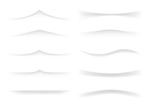 Set Of Vector Dividers
