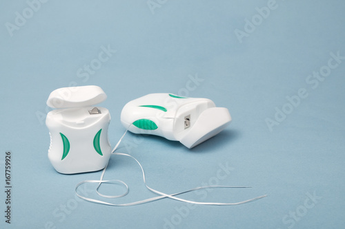 Obraz na plátně Dental floss.