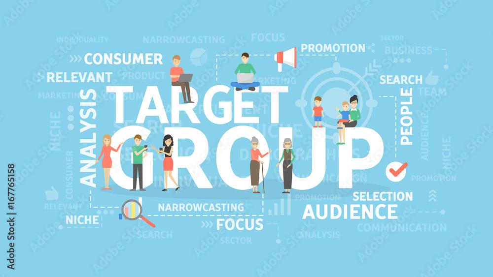 Photo  Target group illustration.