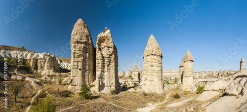 Fototapeta  Fairy tale chimneys