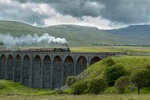 Ribblehead Viaduct & Steam Train