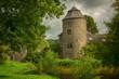 "canvas print picture castle ""Haus zum Haus"" in Ratingen Germany"