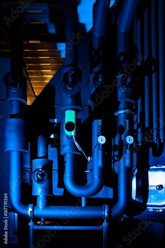 Spoed Foto op Canvas Muziekwinkel Druckmessgeräte