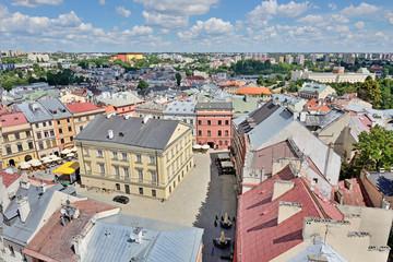 Fototapeta Miasta Old Town of Lublin, Poland