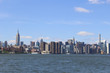 New York City skyline and East River