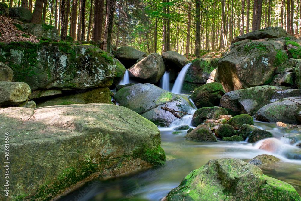 Fototapeta Wodospad Podgórnej