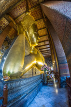 Golden Recumbent Buddha, Thail...
