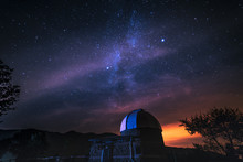 Starry Night Above An Astronom...