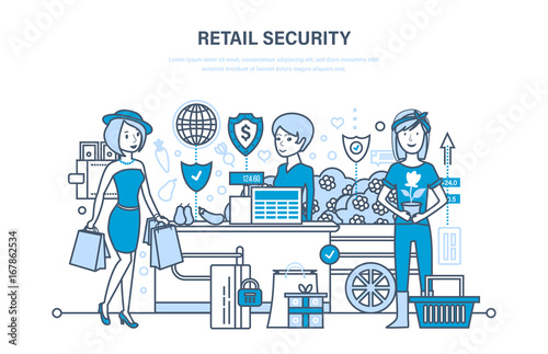 Retail security  Shopping, online ordering system of