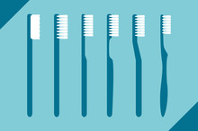 Set Of Different Toothbrush