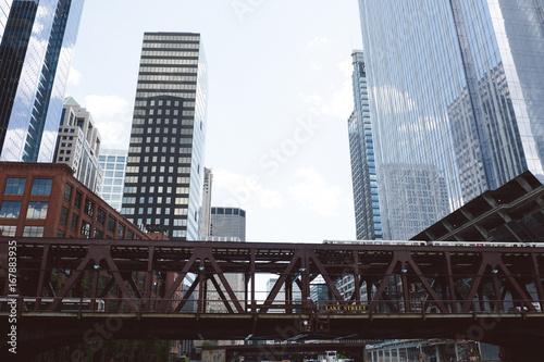 Zdjęcie XXL Lake Street Chicago