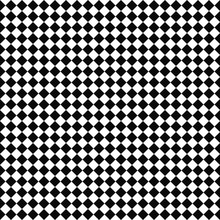 Vector Seamless Checker Pattern. Geometric Texture. Black-and-white Background. Monochrome Design. Vector EPS10