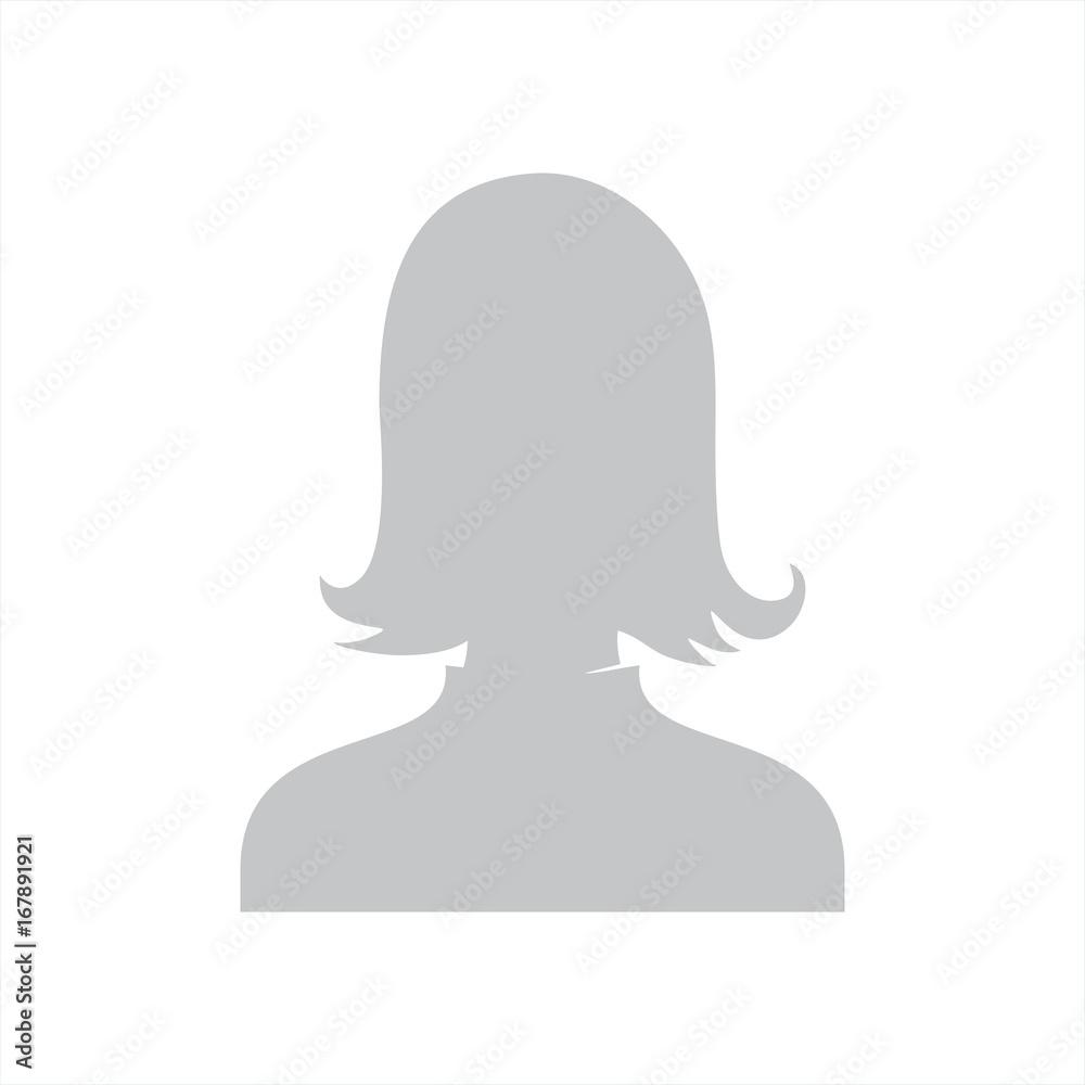 Fototapeta zdjęcie profilowe wektor