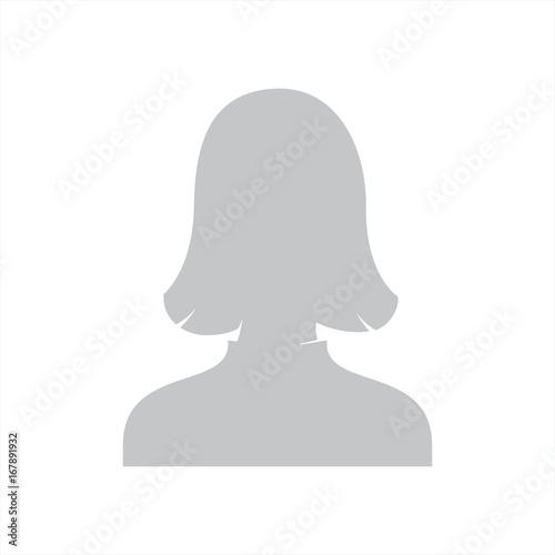 zdjęcie profilowe wektor  - fototapety na wymiar