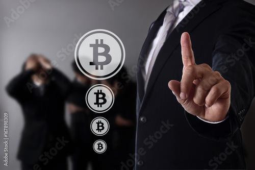 Fototapeta ビットコイン obraz na płótnie