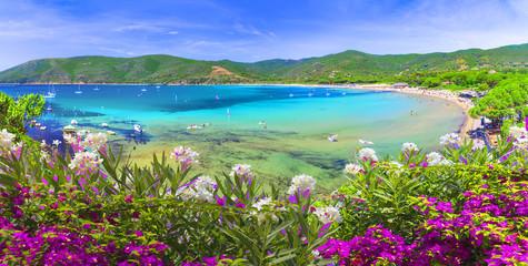 Laconella beach, Lacona region, Elba Island, Tuscany,Italy.