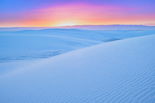 Sunrise @ White Sands National...