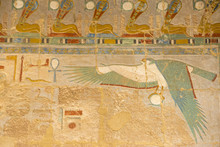 Egypt, Luxor, West Bank, Deir ...