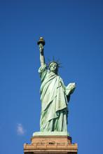 USA, New York, Manhattan, Liberty Island, Statue Of Liberty