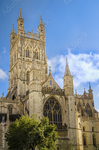 Tower of Gloucester Cathedral Fototapet
