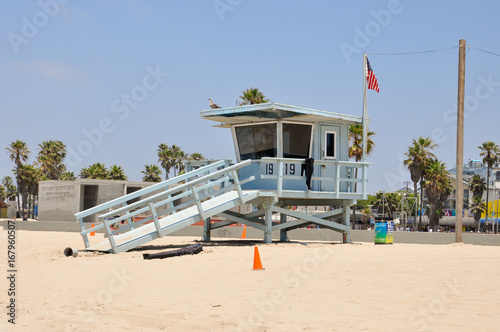 Photo lifeguard in malibu