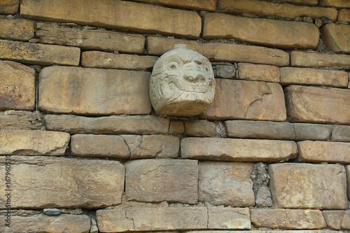 Photo Tenon Head at Chavin de Huantar, Peru