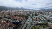Bogota Colombia Autopista Nort...
