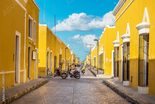 Wall Murals Mexico Izamal, the yellow colonial city of Yucatan, Mexico