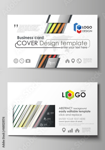 Business card templates easy editable layout vector template business card templates easy editable layout vector template bright color rectangles colorful accmission Choice Image