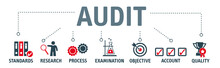 Banner Audit Concept Vector Il...